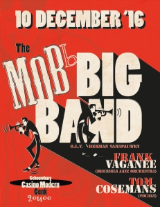 MoBb Big Band in concert! 10 december 2016